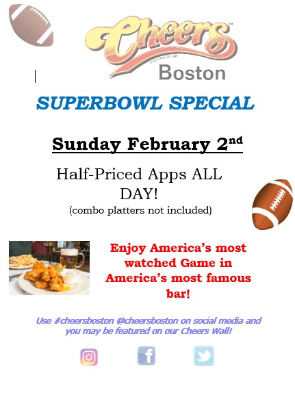 SuperBowl Promotion - February 2nd