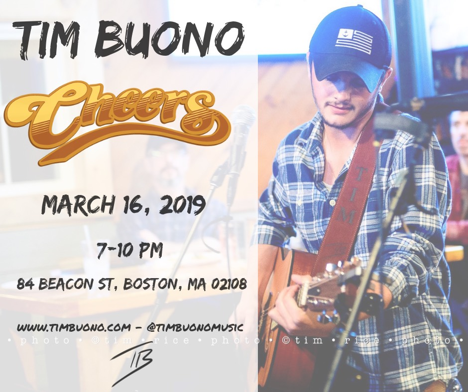 Cheers Beacon Hill - March 16th