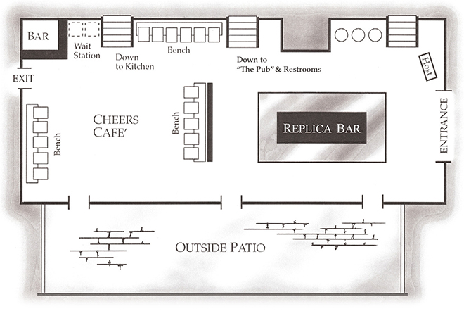 STAGE BAR, CAFE & PATIO