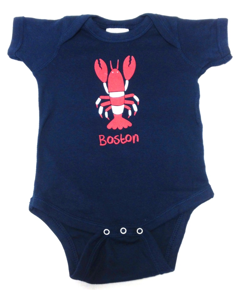 Shop for unique cheers gifts memorabilia cheersboston baby romper lobster negle Images